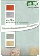 McTex Infomappe  - Baumwollputze & Flüssig Tapeten