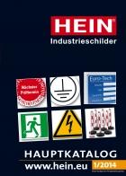 HEIN Industrieschilder GmbH - Hauptkatalog 2015